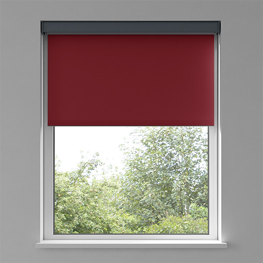 Motorized Blinds Image Red